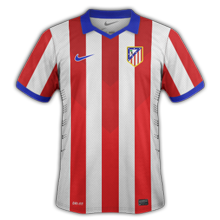 Atletico Madrid 2015 maillot foot domicile 14-15