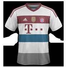 Bayern Munich 2015 maillot exterieur