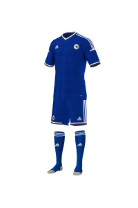 Bosnie-Herzégovine maillot domicile 2014 coupe du monde