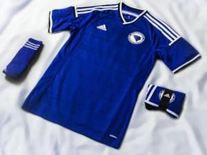 Bosnie Herzegovine 2014 maillot domicile coupe du monde officiel