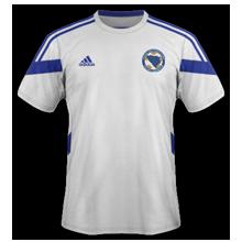 Bosnie Herzegovine 2014 maillot exterieur coupe du monde officiel