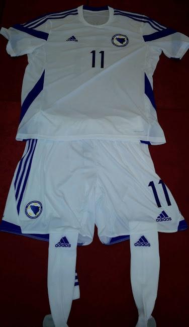 Bosnie herzégovine maillot extérieur 2014 coupe du monde