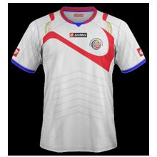 Costa Rica 2014 maillot foot extérieur coupe du monde 2014