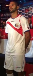 Costa Rica 2014 maillot foot extérieur coupe du monde