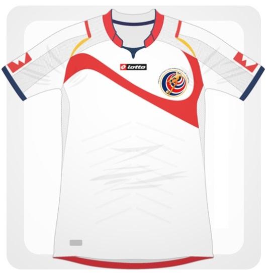 Costa Rica maillot foot extérieur 2014