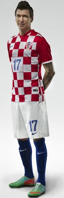Maillot domicile croatie cdm 2014 maillots foot actu - Maillot coupe du monde 2014 ...