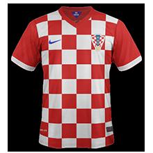 Domicile Croatie صور تيشرتات كل منتخبات كأس العالم 2014