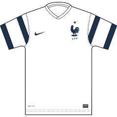 France possible maillot extérieur coupe du monde 2014 template Trophy II