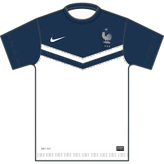France possible maillot extérieur coupe du monde 2014 template Victory II