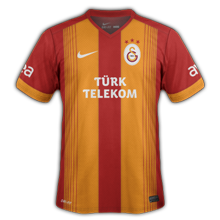 Galatasaray 2015 maillot domicile football