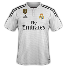 Maillot Real Madrid 2015 badge champion du monde des clubs