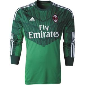 Maillot-de-foot-AC-Milan-Domicile-Manche-Longue-Gardien-De-But-2014-2015