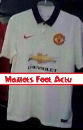 Noir et le logo est dore le signe nike est rouge le short for Maillot exterieur manchester united