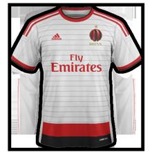 Milan 2015 maillot exterieur