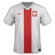 Pologne domicile maillot foot 2014 2015