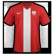 Pologne extérieur maillot foot 2014