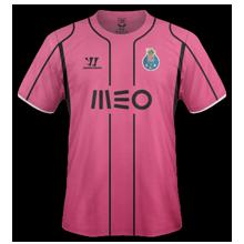 Porto 2015 troisieme maillot third rose
