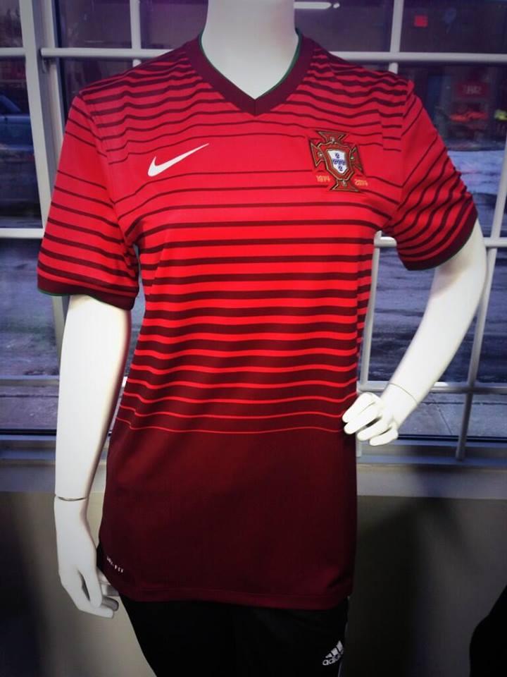 Portugal 2014 maillot domicile coupe du monde