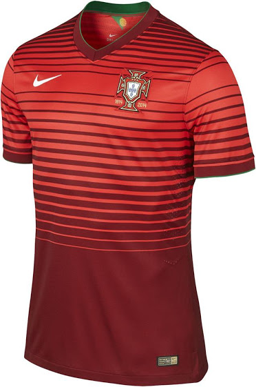 Portugal 2014 maillot foot domicile coupe du monde - Coupe du portugal football ...