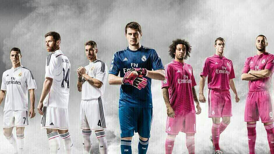 Real Madrid 2014 2015 les maillots de football