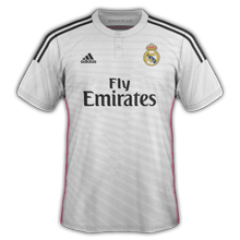 Real Madrid 2015 maillot foot domicile