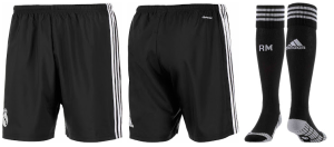 Real Madrid 2015 short third chaussettes third 14 15