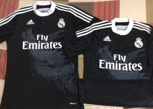 Real Madrid 2015 troisième maillot third foot dragon