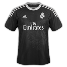 Real Madrid 2015 troisime maillot third 2014 2015