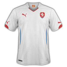 Republique Tcheque maillot exterieur 2014