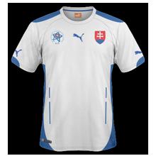 maillot de foot extérieur slovaquie 2014 2015