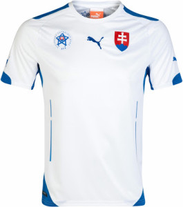 Slovaquie 2014 maillot foot domicile 2014