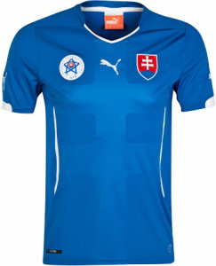 Slovaquie 2014 maillot foot exterieur 2014