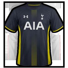 Tottenham 2015 maillot exterieur football
