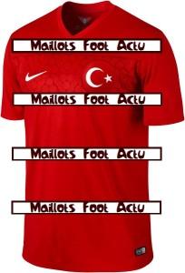 Turquie 2014 2015 maillot domicile