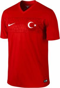 Turquie maillot domicile 2014