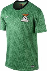 Zambie 2014 maillot foot domicile