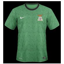 Zambie maillot domicile 2014