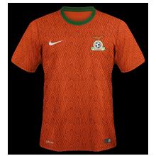 Zambie maillot exterieur 2014