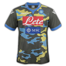 Naples camouflage 2.0 maillot fourth 4eme 2014