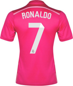 maillot-rose-ronaldo-real-madrid