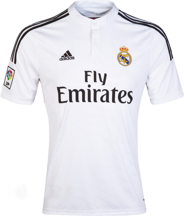maillots real madrid 2014 2015 maillots foot actu. Black Bedroom Furniture Sets. Home Design Ideas