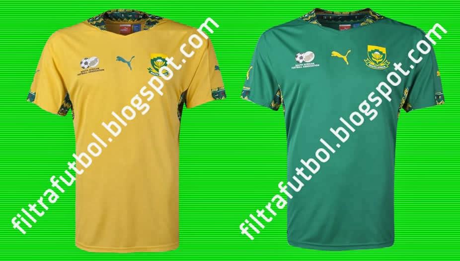 maillots de foot Afrique du Sud 2014 2015