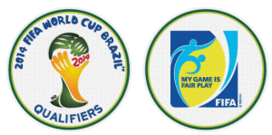 patch coupe du monde 2014