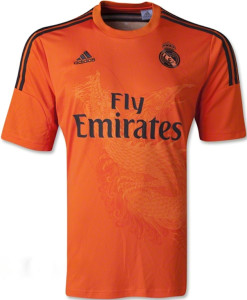 Real Madrid maillot gardien exterieur 2014 2015