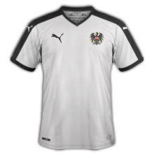 Autriche Euro 2016 maillot exterieur football