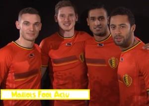 maillot domicile Belgique 2014