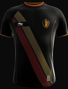 maillot extérieur Belgique 2014