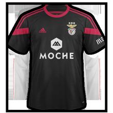 Benfica 2015 maillot exterieur foot