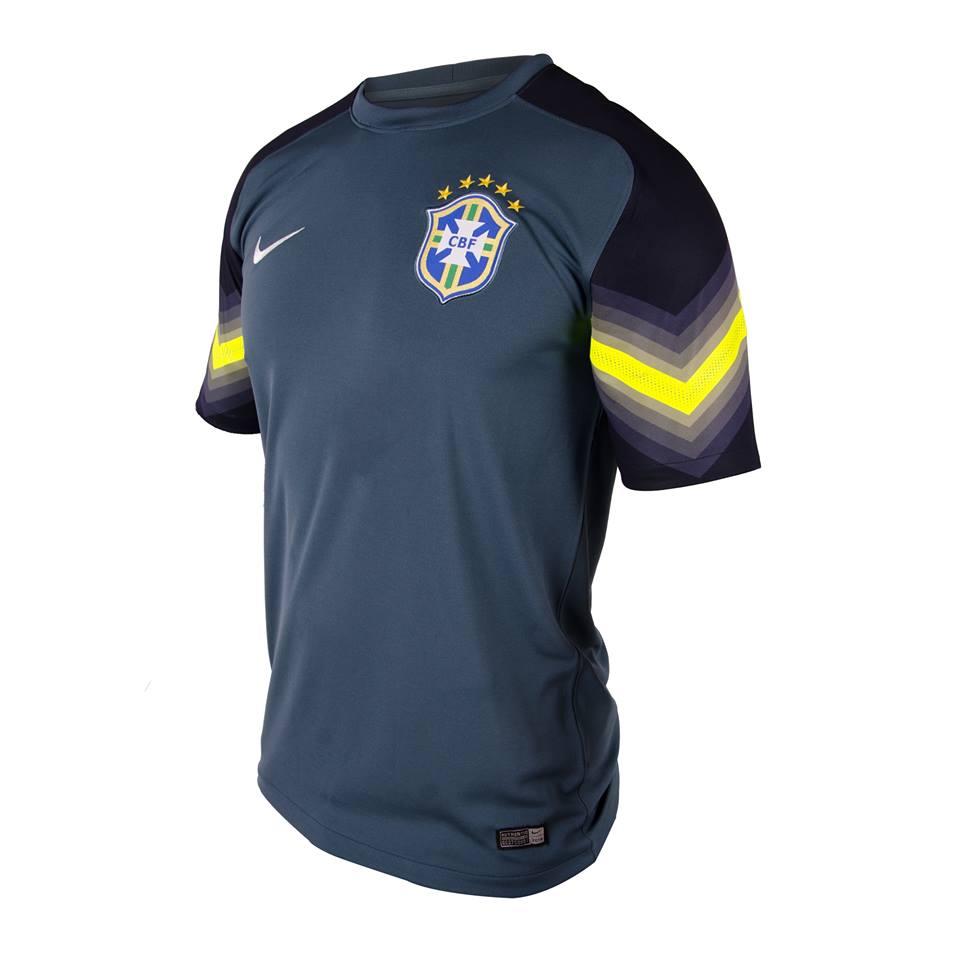 Brésil les maillots du gardien 2014