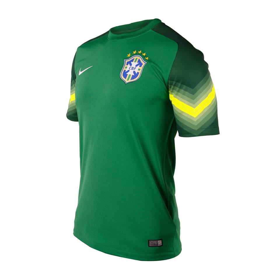 Les Maillots De Gardien Brésil 2014